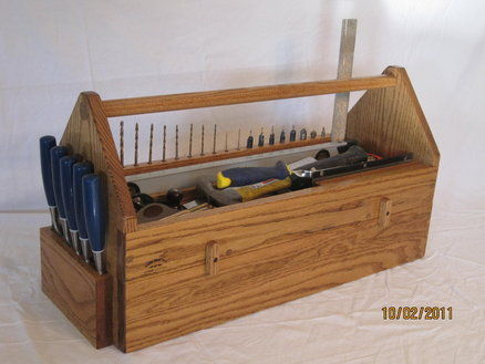 Carpenters Tool Box Plans