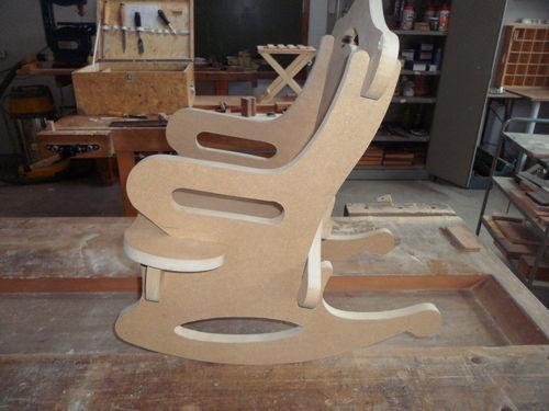 Mdf Rocking Chair By Irtamos Lumberjocks Com