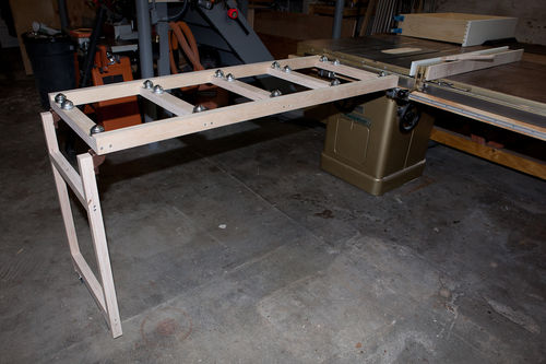 Table Saw Infeed 2 Getting Close By Mikegcny