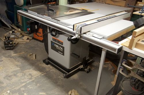 Sold Delta Unisaw 36 953 With Outfeed Table And