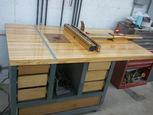 Router table by littletim for Home built router