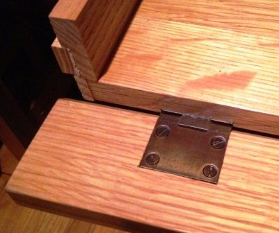 False Drawer Front For Keyboard Tray By Marcus