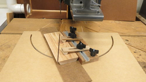 3d Stars 2 Compound Angle Cutting Jig With Hold Downs