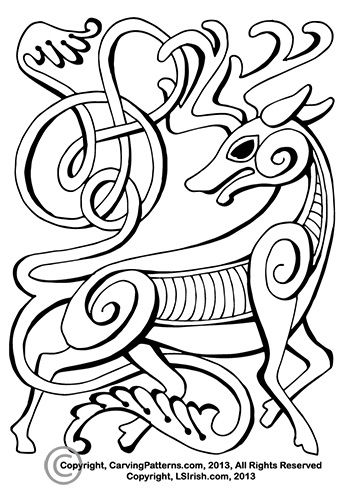 Learn wood carving patterns celtic zine