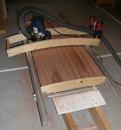 Convex / concave surface router jig - by Viktor ...