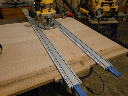 how to cut a straight dado with a router
