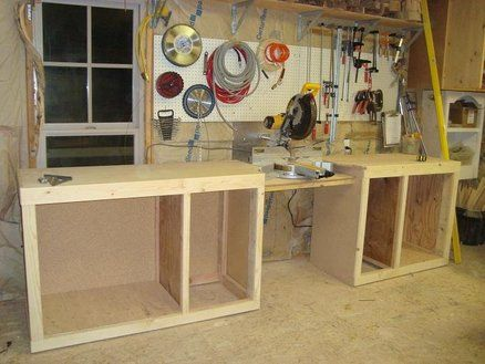 Miter Saw Workstation Build Question By Coloneltravis