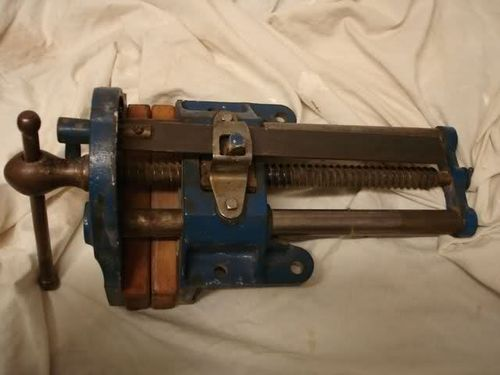 Awesome Ideas About Woodworking Vise On Pinterest  Bench Vise Antique Tools