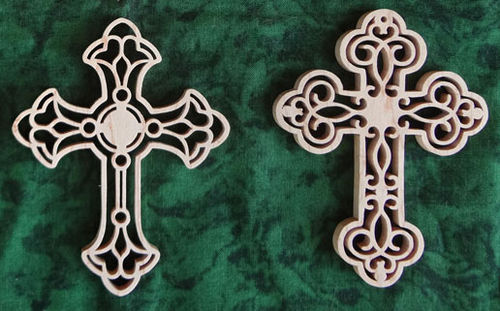 Scroll Saw Wooden Cross Patterns