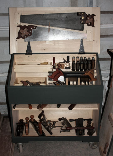 Dutch Tool Chest 5 The Larger Saws By Brandon
