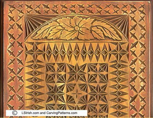 Free chip carving pattern by lsirish lumberjocks