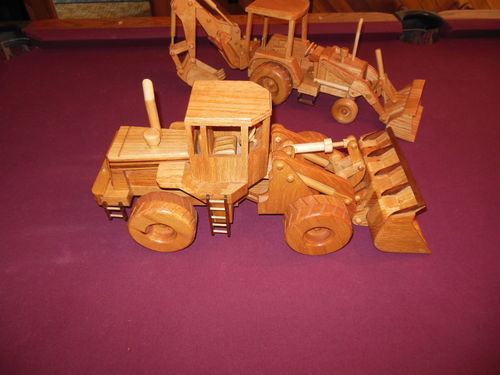 Toys And Joys Woodworking : First post toys and joys excavator project by dee