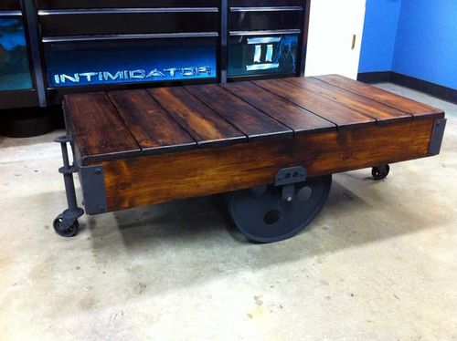 Antique Warehouse Carts Cleaning Finish Opinions By Kwit Woodworking