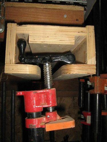 Pipe Clamp Storage By A1jim Lumberjocks Com