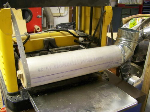 Make Plans Dewalt 733 Planer Dust Hood - DIY Woodworking Projects
