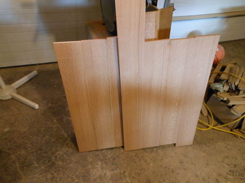 Arts And Crafts Corbels: Arts And Crafts Nightstand #4: Tops, Drawer Fronts, And
