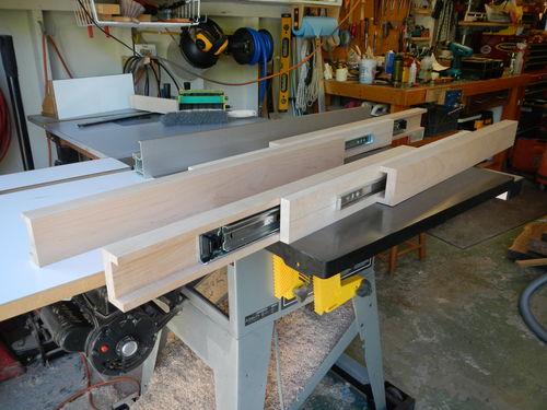 Dining table extension slides by DaveSJ LumberJocks  : mo744y3 from lumberjocks.com size 500 x 375 jpeg 43kB