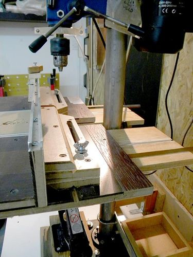 Drill Press Station Table Lift Fence Vise Drum Sander
