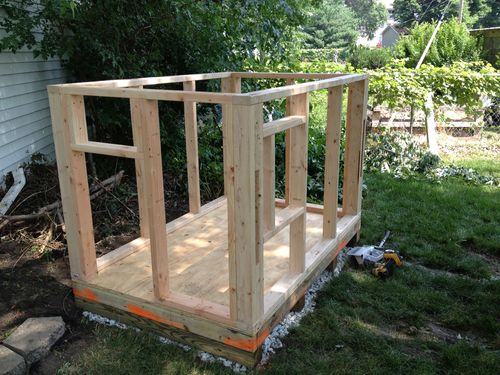 Monster Dog House 1 Foundation And Framing By Milbert Lumberjocks Com Woodworking Community