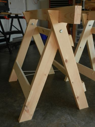 Free Foldable Sawhorse Plans