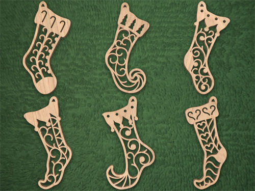 Scroll Saw Patterns Free Christmas Ornaments