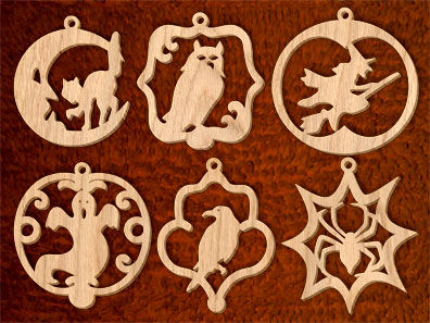 halloween wood patterns