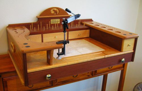 Fly Tying Stand - by summerfi @ LumberJocks.com ...