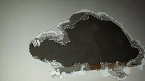 Old plasterboard help by seamus0559 for Is there asbestos in old drywall