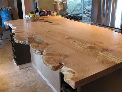 Finishing A Live Edge Slab Suggestions To Achieve