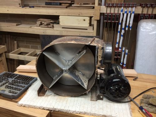 Dust collector blower by rockindavan for Dust collector motor blower
