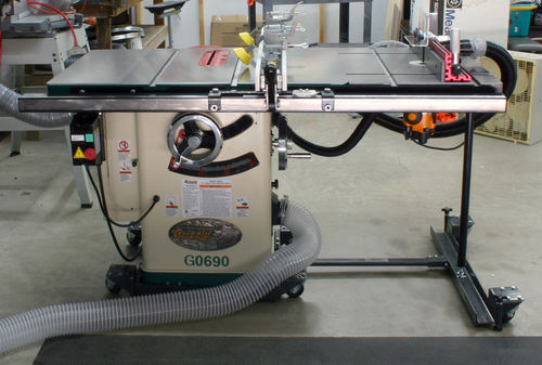 Attaching Purchased Router Table To Table Saw By Fish22