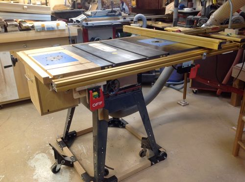 The basement 41 moddin 39 the table saw by jl7 for 10 table saw harbor freight