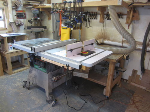 Table Saw And Router Table Combo Problem Resolved By