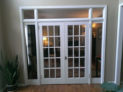 French door sidelight troubles by gtenginerd for Sliding french doors with sidelights