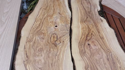 wild olive wood inch thick 6 6 long live edge planks bazz windsor uk ...