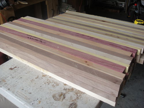 how to make a cutting board without a planer