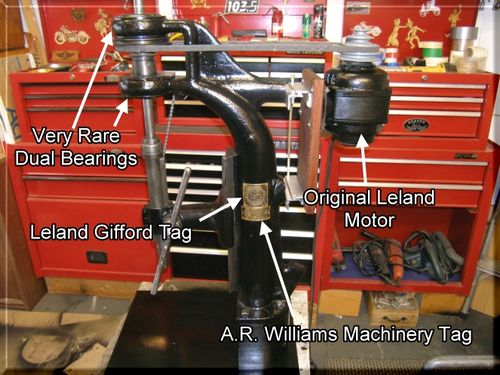 """Very Rare"""" - Leland Gifford Drill Press 1920's - by BigFoot Products ..."""
