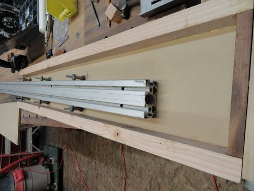 Sliding Tablesaw Homemade : Shop built Sliding table for Tablesaw #6: Building the Outrigger - by ...