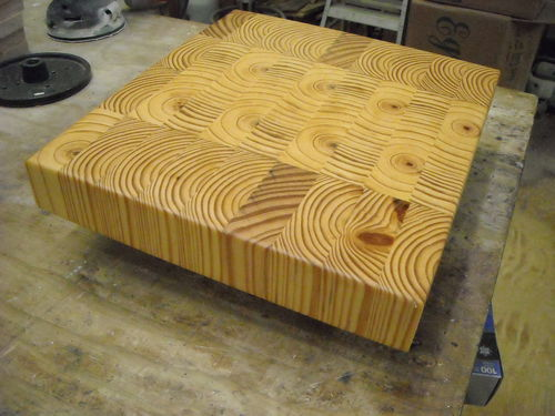 End Grain Syp Cutting Board By Joeinga Lumberjocks Com