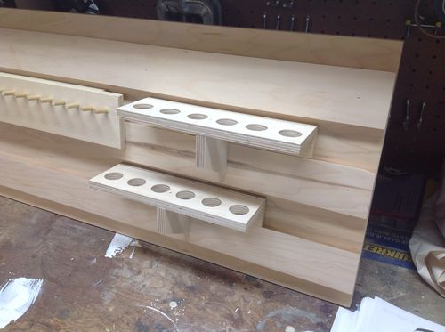 Garage Cabinets #8: French cleat system - by John Lowell ...