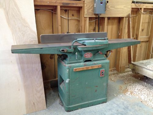 Help with new old powermatic pm60 jointer by boatz for Powermatic 66 table saw motor