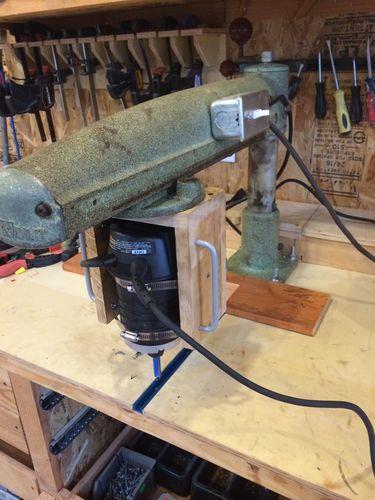 My New Radial Arm Router By Ttf Lumberjocks Com