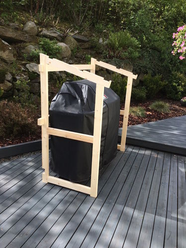 A Outdoor Storage Shed For My Bbq Grill 2 Sizing The