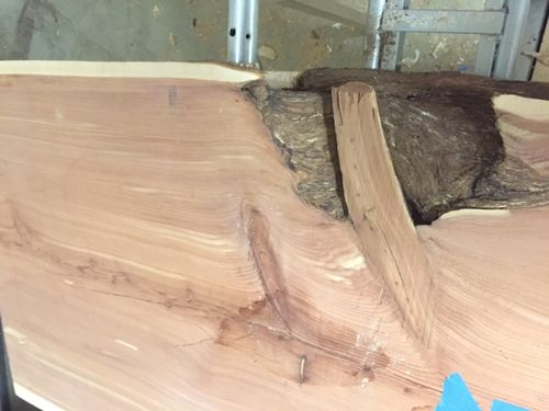 Finishing the edges and sides of a live edge slab for Finishing live edge wood