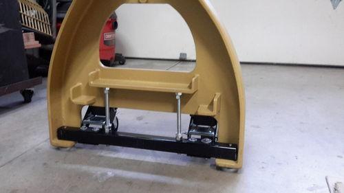 DIY Mobile base for Powermatic lathe - by Julian @ LumberJocks.com ~ woodworking community