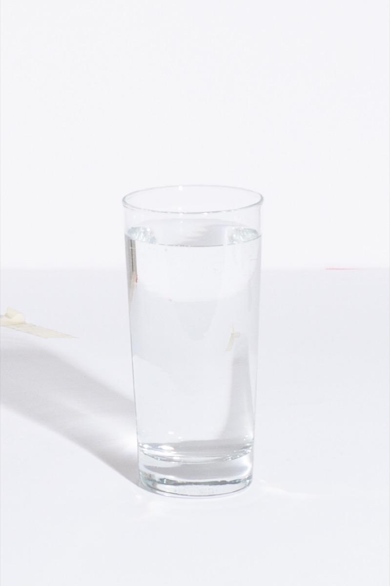 It's water!