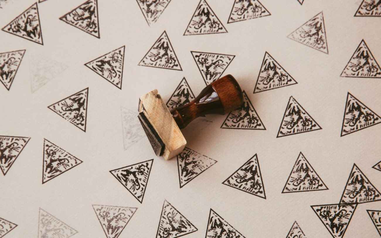 Making Hand-Stamped Cards with Designer Isaac LeFever