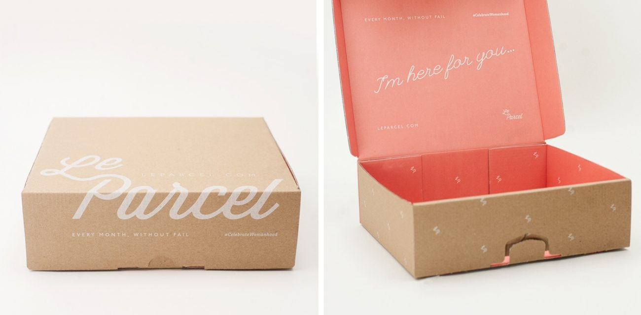 Le Parcel by Andrew Capener  Knowing Your Way Around a Box
