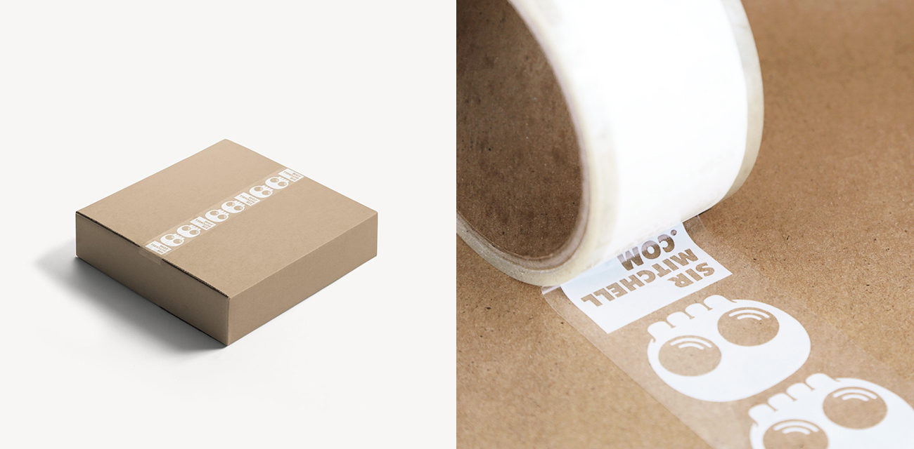 Design: Sir Mitchell A Practical Guide to Designing Packing Tape