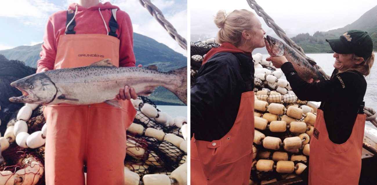 The Salmon Sisters are the New Face of Fishermen